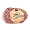 Cotton Merino Meliert Bordeauxrot (212)